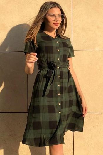 rochie ariadna verde 2.1