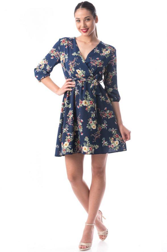rochie amalia bleumarin 1.1