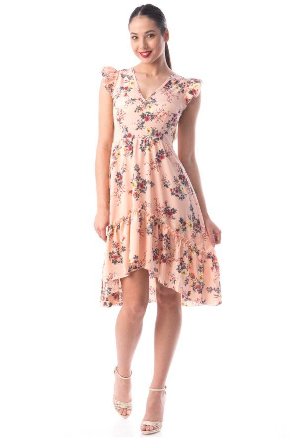 rochie cheilani roz 1.1