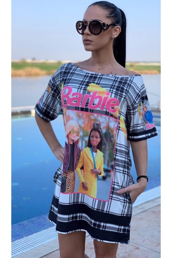 rochie melora barbie multicolora 1 (1)