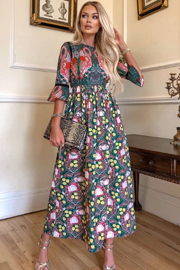 rochie adelaisa verde 3 (1)