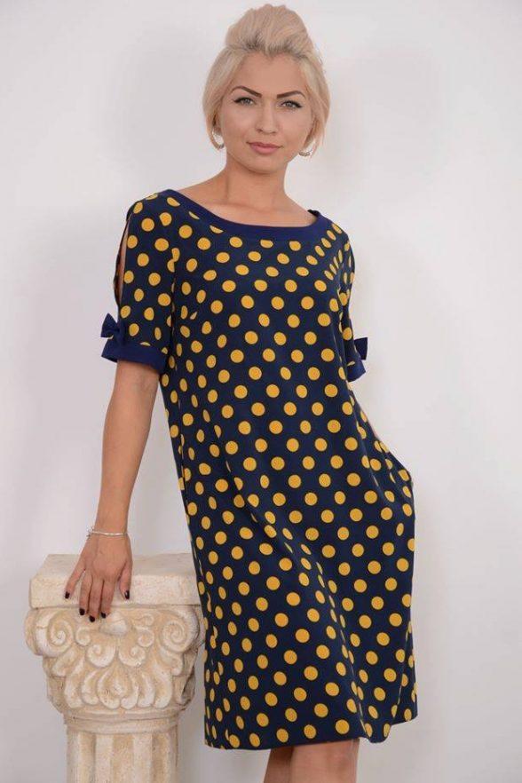 rochie brigida bleumarin