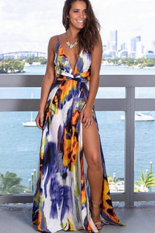 rochie ciri multicolora 2