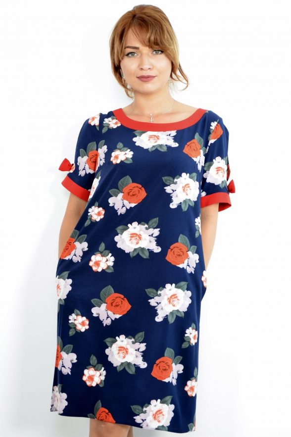 rochie sofy bleumarin